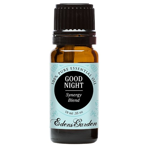Edens Garden Good Night 10 ml 100% Pure Therapeutic Grade GC/MS Tested (Lavender, Sweet Majoram, Chamomile, Bergamot, Ylang Ylang, Sandalwood, Key Lime, Vanilla) by Edens Garden