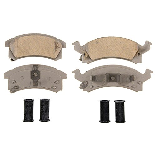 Wagner ThermoQuiet QC673 Ceramic Disc Pad Set With Installation Hardware, Front
