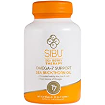 Sibu Beauty Sea Buckthorn Cellular Support with Omega - 60 softgel per pack -- 1 each.