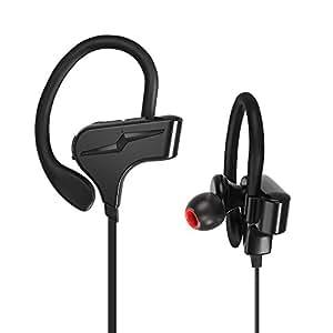 Auriculares Inalambricos, Giaride Auriculares Bluetooth 4.1 Deportivos y Impermeables IPX7 con micrófono Cancelación para Hacer Correr Compatible con iPhone Sony Samsung Huawei