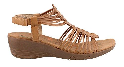Barstaps Sandals Caramel Van Hansin Dames