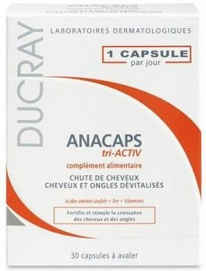 Tri ACTIV Capsules Treatment growthDUCRAY Worldwide