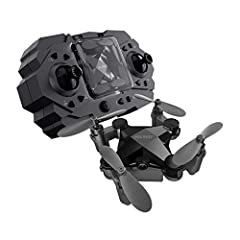 HELIWAY 901HS Mini RC Helicopter Drone For Kids Or Beginner Quadcopter Features:Support WIFI connection, APP control.Support gravity sensing and real time image transfer.It helps increase kids' interest and happiness.Small size, foldable, eas...