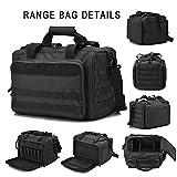 Tactical Gun Range Bag Deluxe Pistol Shooting Range