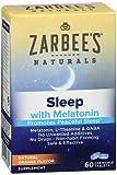 Zarbee's Naturals Sleep Melatonin, Orange Flavor, 60 Chewable Tablets (Pack of 2)