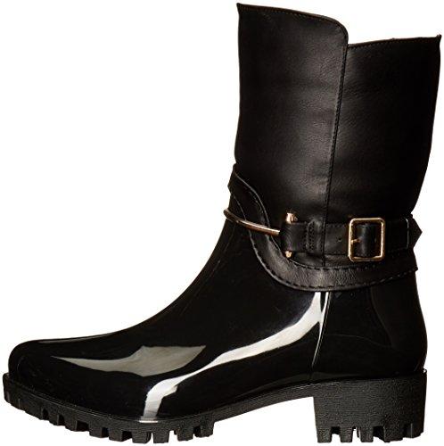 Women's Rain Boot Black Coldin Spring Step gq5TP