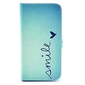 Teléfono Móvil Samsung - Carcasas de Cuerpo Completo - Gráfico/Dibujos Animados/Diseño Especial - para Samsung S5 i9600 ( Multi-color ,Plástico/Cuero