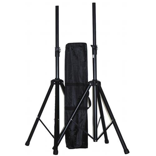 PA-Boxenständer 'CBS-30' 1,80m max, bis 30kg, Paar mit Tasche