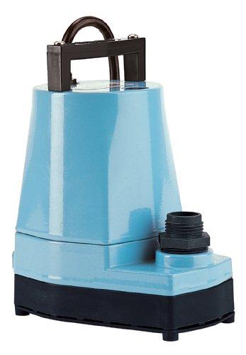 Little Giant 505005 5-MSP 1/6 HP Submersible Utility Pump, (Little Giant Sump Pump)