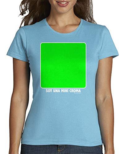 Mujer Latostadora Cielo Azul Tmfpp009pixelada Camiseta Para 1tgqt7HwxB