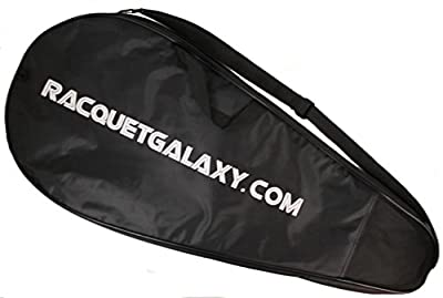 """""""Deluxe"""" Full Size Tennis Racquet Cover w/ Pocket"""