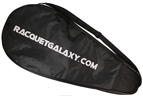 """Deluxe"" Full Size Tennis Racquet Cover w/ Pocket"