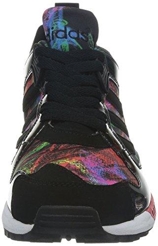 adidas Black para multicolor Zapatillas mujer Multi multicolor 86g8qx