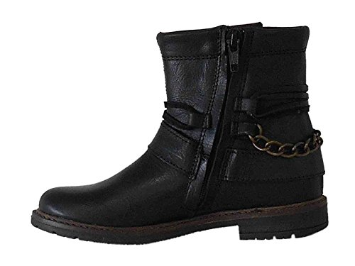 BOOTS NOIR FILLE BANA AND CO 45790