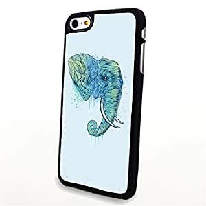 apply Phone Accessories Matte Hard Plastic Phone Cases Cartoon Animal Elephant fit For Apple Iphone 5C Case Cover