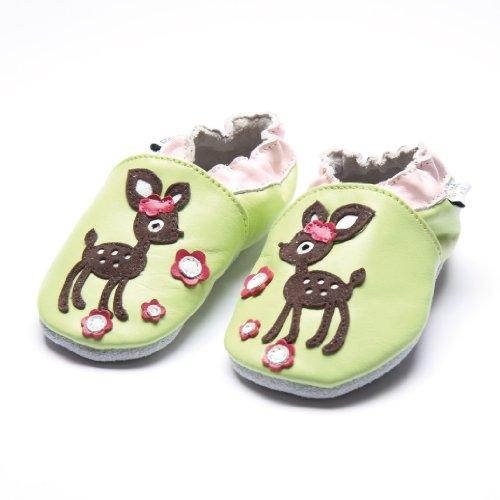 Jinwood designed by amsomo - Zapatillas de estar por casa para niña Multicolor - deer green soft sole