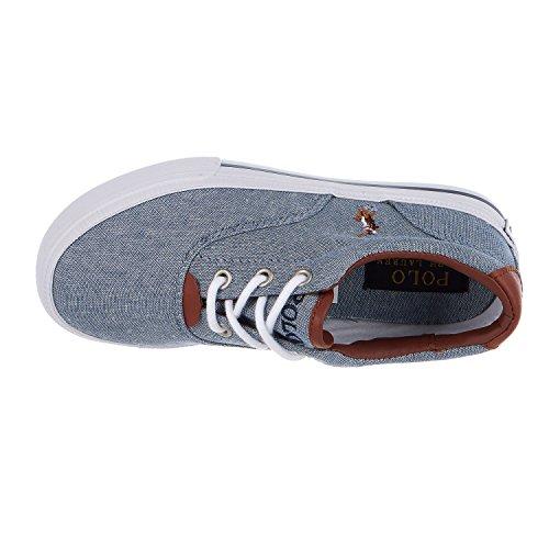 Blaue Polo Ralph Lauren Sneaker VAUGHN II KIDS