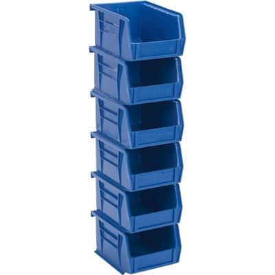Attrayant Quantum Heavy Duty Storage Bins   6 Pk., Blue