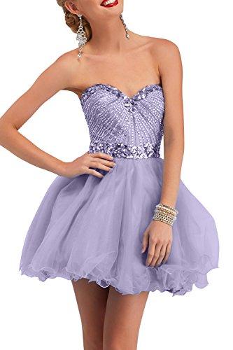 Brau Traegerlos Steine Kleider Lilac Festlichkleider Abendkleider mia Partykleider Cocktailkleider La mit Jugendweihe Perlen 5qwxEUBx1v