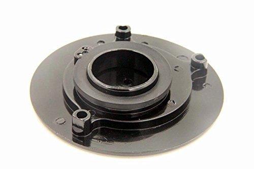 HTT Motorcycle Black Keyless Gas Cap Twist Off Fuel Tank Cap For Kawasaki ZX-14R// ZZR1200 //ZRX1200R //Z1000 //ZX-10R //ZX-9R //ZX-6RR //ZX-6R
