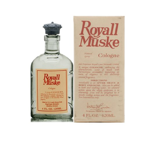 Royall Muske Of Bermuda By Royall Fragrances For Men. Cologne Spray 4.0 Oz ( Aftershave & Cologne ()