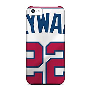 Great Hard Phone Case For Iphone 5c (fLJ11337ftEg) Allow Personal Design Realistic Atlanta Braves Series