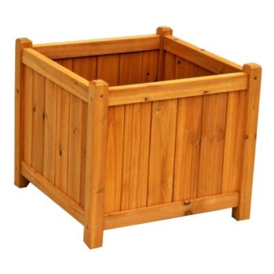 picture of Leisure Season Wood Planter Box