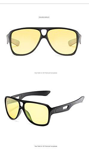 Negro Polarizadas Al 1040 Nocturna Al Aire Polarizadas Parabrisas De naranja por Sol Película con Visión Gafas De Estilo Pieza Deportes De marco gris Mayor Libre Hombres Montar Gafas Inovey Marco qBXU4wtxU