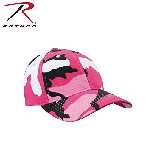 2009 Womens Cap (Rothco Low Profile Cap, Pink Camo)