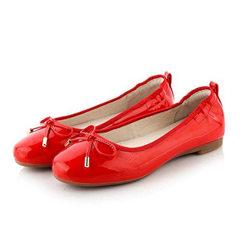 Moda superficial planos zapatos de la señora/zapato de pala/arco zapatos casual rollo de huevo B