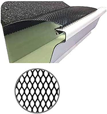 100 Feet Ultra Flo Leaf Guard Gutter Protector For 6 K Style Gutters Micro X Micromesh 25 Panels X 4 00 Each Amazon Com