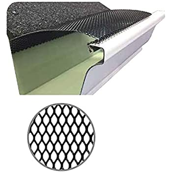 100 Feet Ultra Flo Leaf Guard Gutter Protector For 6 Quot K
