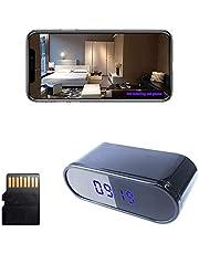 2021 new WIFI 1080P camera wireless network camera small camera home small camera sound synchronization clock camera use Tuya smart application software APP