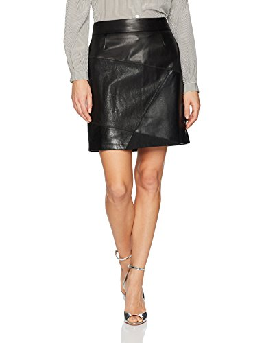 Desigual Women's Henry Woman Woven Short Skirt, black, S by Desigual