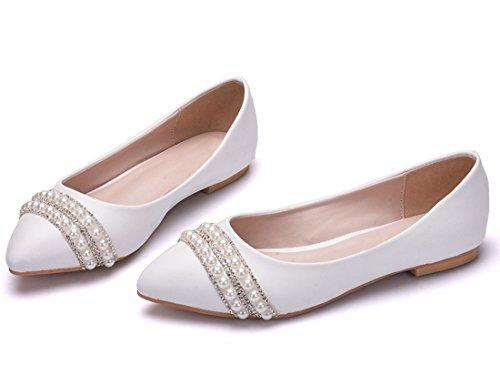 Blanc 5 Blanc MGM Compensées Joymod 36 Sandales Femme n7xqPZfwXq