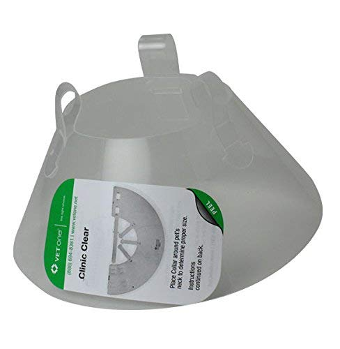VetOne Clinic Clear Recovery Collar 25cm by Vet One