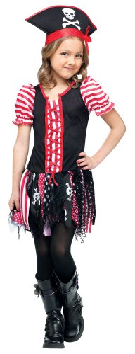 Stowaway Costume (Girls Tween Pirate Costume Child Stowaway Sweetie Halloween Costume 4-6)