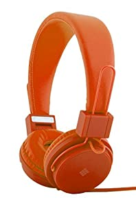 Polaroid PHP8500BK Neon Headphones With Mic, Foldable, Tangle-Proof, Compatible with All Devices