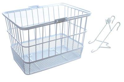 (Sunlite Standard Mesh Bottom Lift-Off Basket w/Bracket, White)