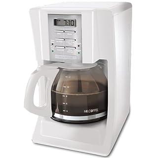 Mr. Coffee SJX20 12-Cup Programmable Coffeemaker, White (B0041847PQ)   Amazon price tracker / tracking, Amazon price history charts, Amazon price watches, Amazon price drop alerts