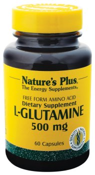 Nature Plus - L-Glutamine 500 mg, 60 capsules