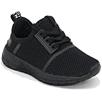 EASY21 Children and Kids Breathable Fashion Sneakers Casual Slip-on Loafers Athletic Sports Shoes