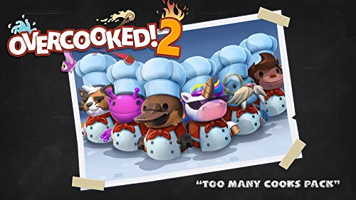 Overcooked! 2 - Too Many Cooks Pack - Nintendo Switch [Digital Code]