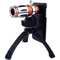 Apexel Telescope 12.5x Zoom Telephoto Manual Focus Long Focal Camera Phone Lens with High-end Tripod for Samsung Galaxy S7