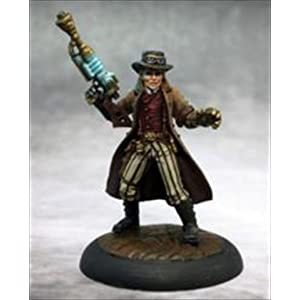 Reaper Dr. Charles Bennet, Steampunk Hero Miniatures