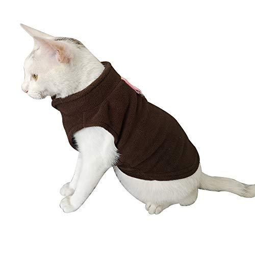 Pet Dog Cat Villus Warm Clothes Puppy Doggy