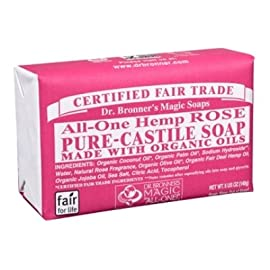 Dr. Bronner'S Organic Bar Soaps Pure Castile 61 ALMOND. Warm, comforting and slightly sweet - like marzipan or amaretto! Our Almond Pure-Castile Bar Soap is made with certified fair trade ingredients and organic hemp oil for a soft, smooth lather that won't dry your skin GENTLE SOAP. This moisturizing bar soap offers organic and vegan ingredients for a rich, emollient lather. It is ideal for washing your body or face. With no synthetic detergents or preservatives, you can nourish your skin with every wash MULTI-USE. This multi-use bar soap can be used on its own as a traditional body or face scrub, or you can dilute it in various recipes for anything from a pest spray to laundry wash. This gentle, yet powerful soap is the ultimate multi-use cleaner