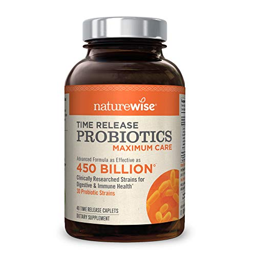 on Max Probiotics for Men and Women | Time-Release Probiotic: 30 Strains, Maximum CFU with WiseBiotics Technology, Shelf Stable, and Acid Resistant | 40-Day Supply ()