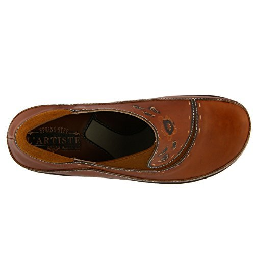 Spring Step Women's Burbank Shoe (38 M EU, Camel)