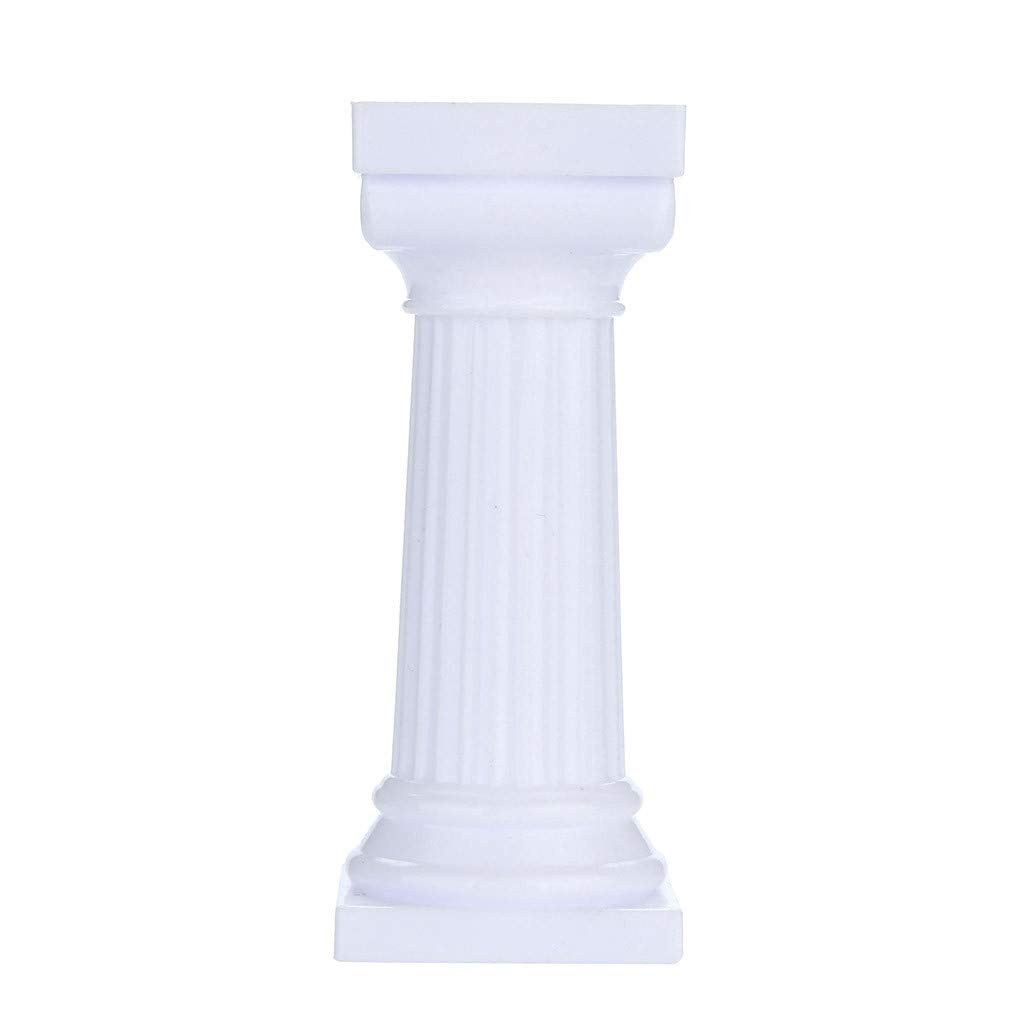Euone  Cake Pillars Clearance, 4pcs Multi-Layered Cake Roman Column Support Stand Decor Pillars Wedding Cake by Euone (Image #2)